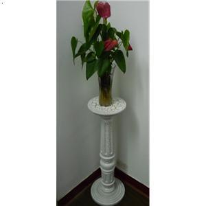树脂欧式花架 白色裂纹系列