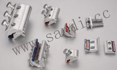 capg型铜铝并沟线夹