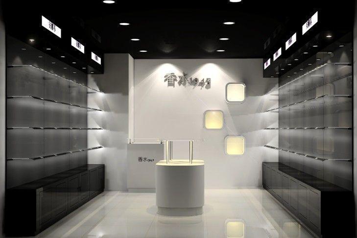 香水展台设计手绘图图片展示_香水展台设计手