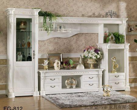 欧式电视柜古典衣柜新古典家具