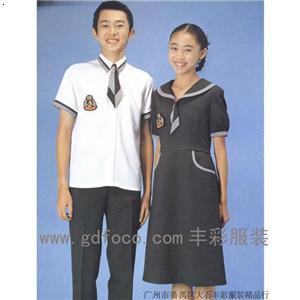 【校服】厂家,价格,图片_广州市丰彩服装有限公司图片