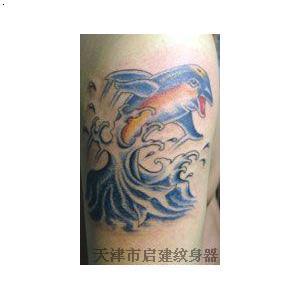 邪龙关公纹身手稿内容图片分享图片