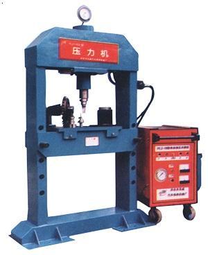 80t电动液压门式压力机图片