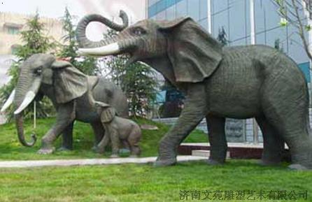 动物仿真雕塑_济南文苑雕塑艺术有限公司-铭万网