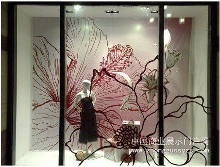 品牌服装店橱窗设计