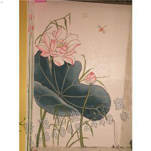 手绘室内效果图粉笔