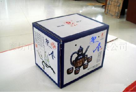 纸盒箱做动物图片