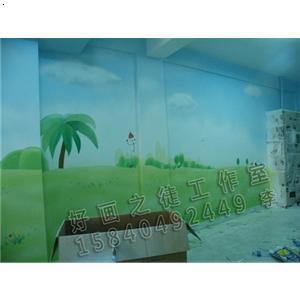 产品首页 纸业 壁纸,壁布 幼儿园墙壁画