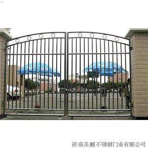 钢围墙门图片,乡下不锈钢围墙门图片,围墙304不锈钢 ...