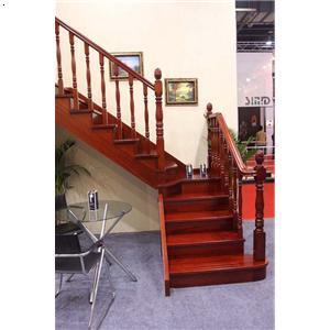 天津跃层楼梯复式楼梯别墅楼梯错层楼梯新款实木楼梯