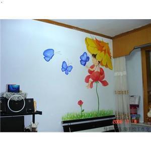 长春手绘墙