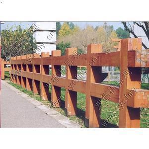 石材围栏效果图