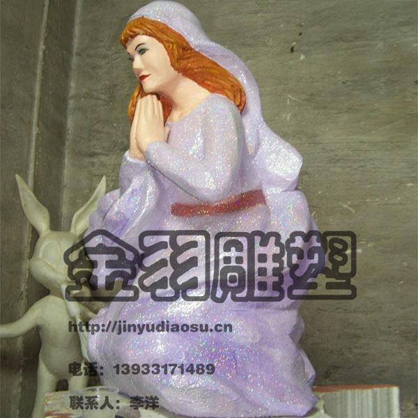 河北石家庄泡沫雕塑厂金羽雕塑专
