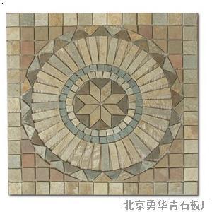 马赛克拼花6_北京勇华青石板厂-必途