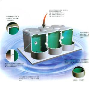 预制钢筋混凝土环保生物化粪池