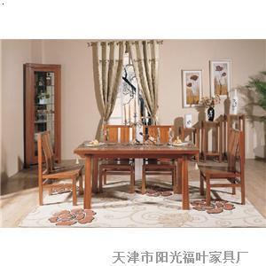 餐厅实木家具_天津市阳光福叶家具有限公司-必途 b2b.