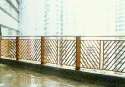 铁艺方管栏杆