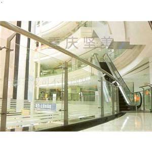 【商场不锈钢玻璃栏杆】厂家,价格,图片_重庆坚美金属制品有限公司