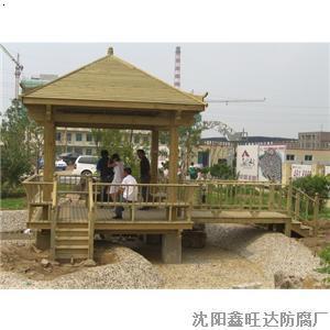 产品首页 建筑,建材 木质材料 原木 凉亭