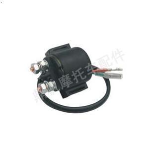 摩托车的高压包 和磁电机是怎样接线的图片