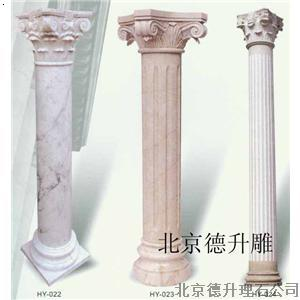 汉白玉/青石龙柱|圆柱|罗马柱|华表雕刻