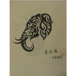 手稿图腾_侯哥纹身室-必途图片