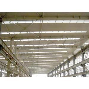 frp采光板应用于钢结构厂房及货仓