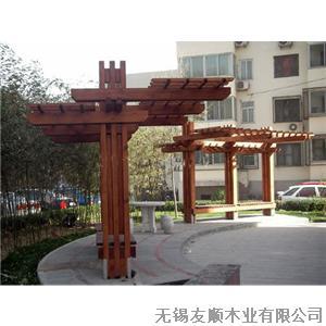 防腐木景观_无锡友顺木业有限公司-必途 b2b.cn