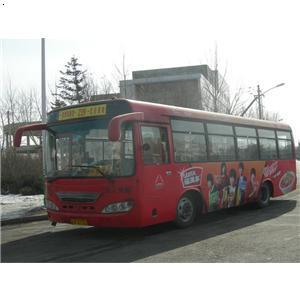 长春市239路公交车车体广告