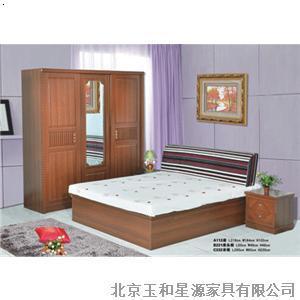 板式床 图片