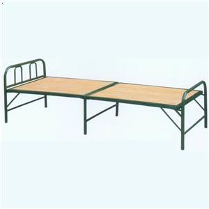 角铁竹板床图片