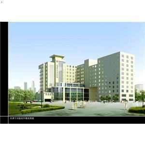 医院综合楼效果图 南通启益建设工程有限公司 必途 b2b.cn高清图片
