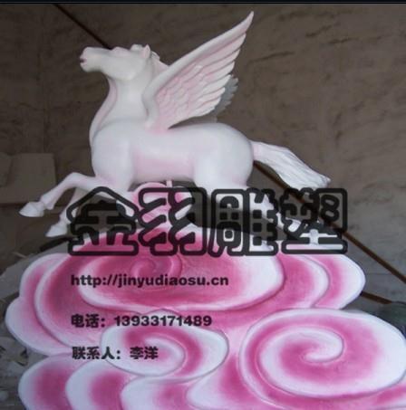 泡沫雕塑马金羽雕塑专