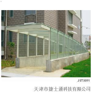 玻璃雨棚jst 301;; 汽车坡道雨棚效果图; 中国领先的商业搜索必途b2b