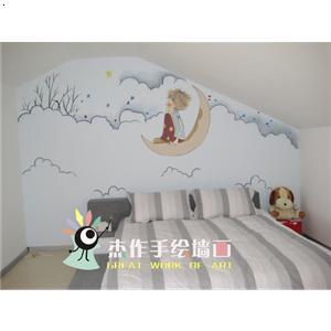 家庭墙画_杰作手绘墙画-必途