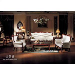 白色欧式沙发-金凯莎莎翁忆梦沙发组椅