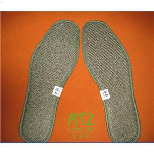 简单鞋垫叶子刺绣图解