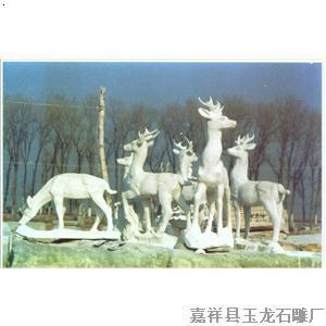 供应石雕龙柱 动物雕塑 花盆 佛像 雕塑系列