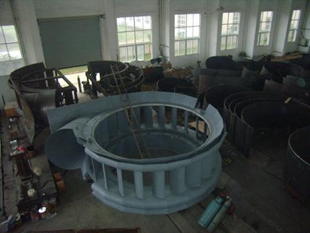 水轮机座环