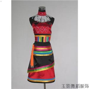 傣族舞服装5