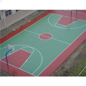 青岛塑胶篮球场 青岛绿茵塑胶铺装工程有限公司 必途 b2b.cn -青岛塑