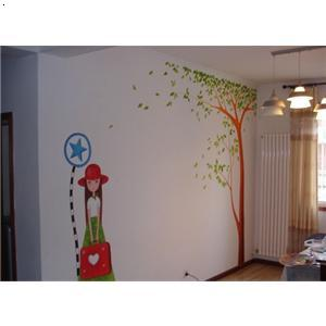 室内墙体彩绘