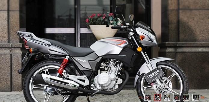 CF150春风水冷摩托车是不是电喷摩托车 一般价格是多少钱图片