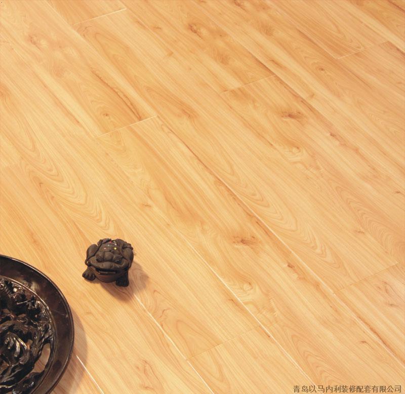 高档品牌模压木地板-世和地板之