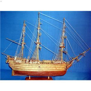胜利号帆船(开门炮一期)/纯手工制作木质船模