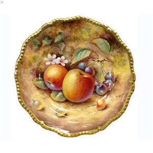 手绘水果盘