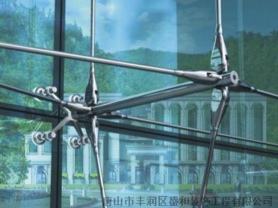 唐海玻璃幕墙唐山玻