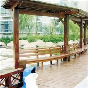 产品首页 建筑,建材 木质材料 原木 防腐木廊架 凉亭,木屋  价