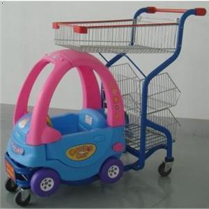 超市儿童车推车