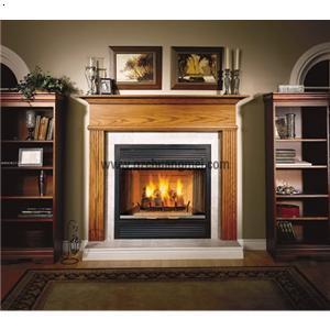 木制 壁炉; 壁炉; 木制壁炉架